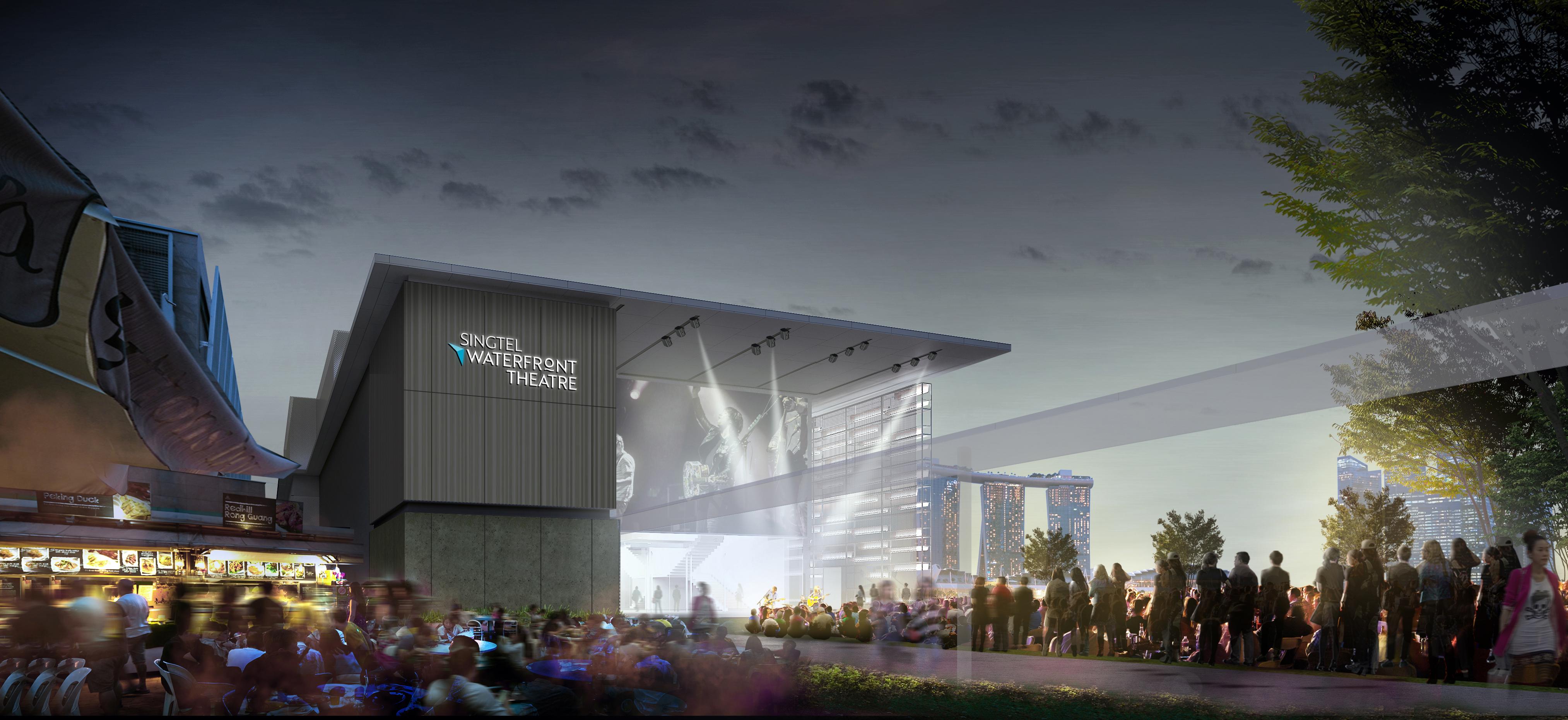Singtel Waterfront Theatre at Esplanade